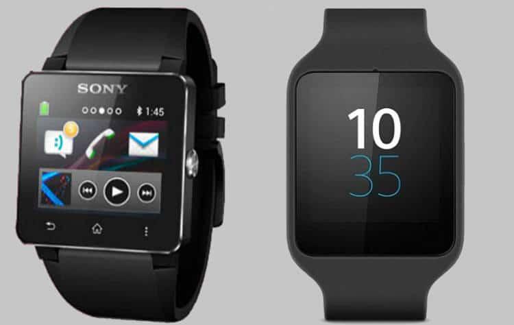 Taille et design la SmartWatch 3 de Sony