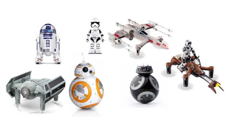 Top drones et robots Star Wars pour Noël 2017