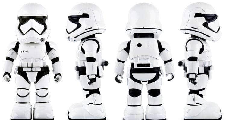 Pour Noël, le robot patrouilleur Stormtrooper de la marque UBTECH