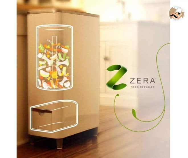 Comment fonctionne la poubelle intelligente ? objets connectés poubelle tri dechets zera food recycler whirlpool 3