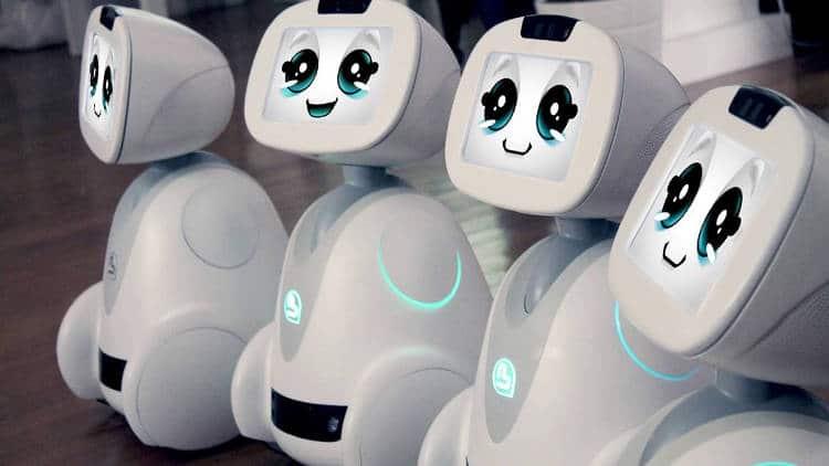 Votre robot de compagnie Buddy s'occupe de toute la famille