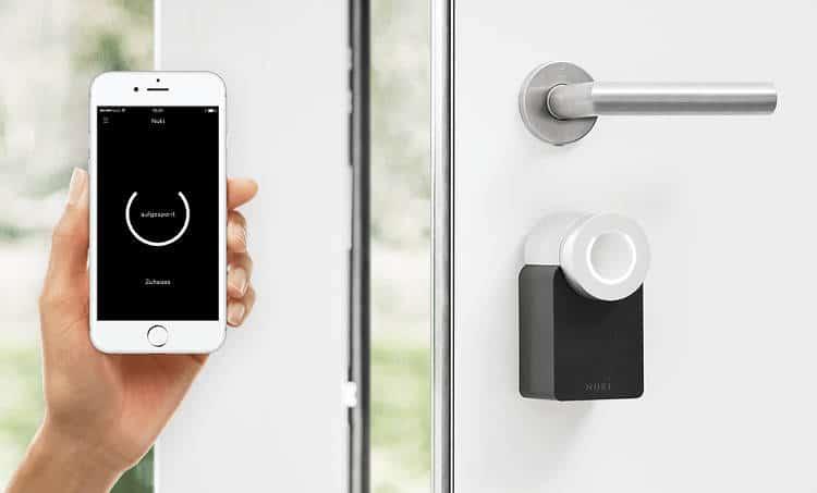 La serrure connectée Nuki transforme votre Smartphone en clé intelligente !