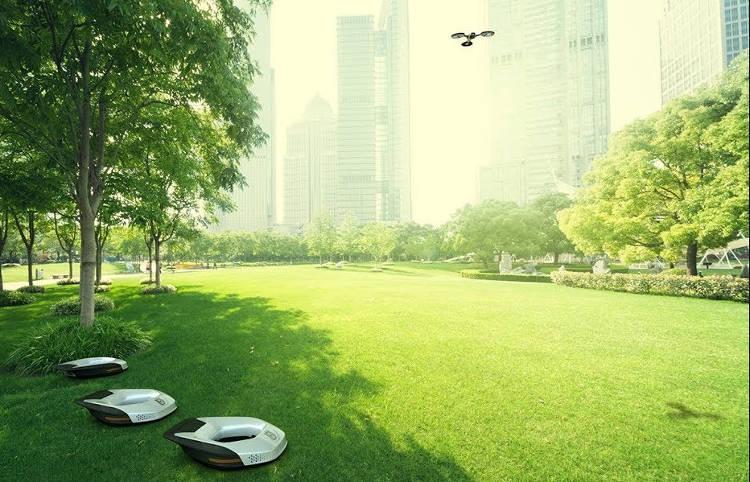 Une tondeuse-robot capable d'entretenir 1 hectare en 8 minutes !