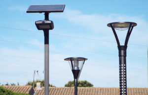 Au CES Las Vegas, un lampadaire solaire (et français!)
