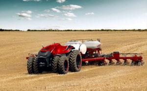 Le tracteur autonome : la star habituelle au salon de l'agriculture