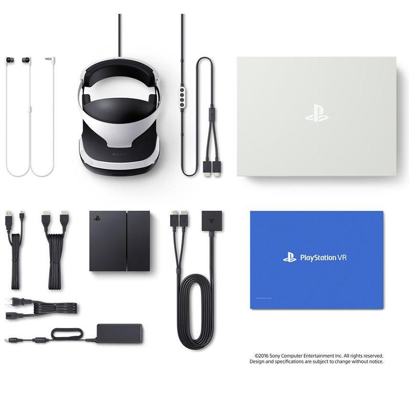 Pack Playstation VR et ses accessoires