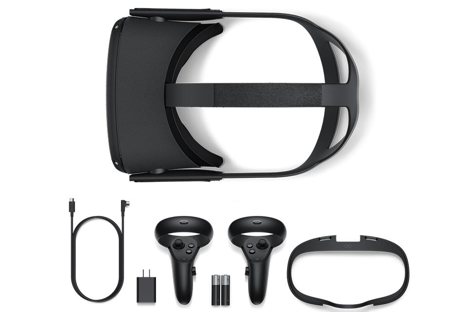 Pack Oculus quest et ses accesssoires
