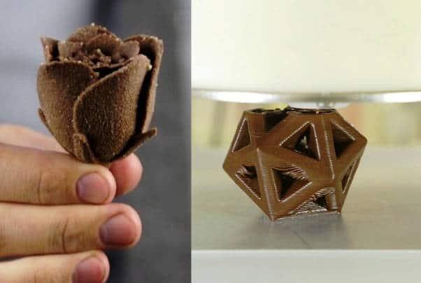 Pour les gourmands: l'imprimante 3D à chocolat débarque dans nos cuisines