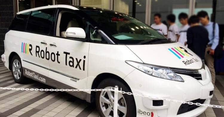 Des taxis autonomes en circulation au Japon