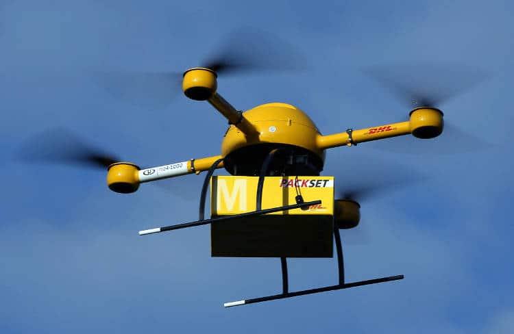 Des drones livreursdans le ciel?