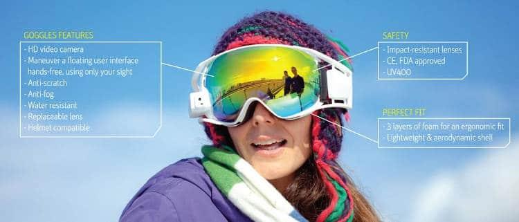 Réalité augmentée et objets connectés : en 2016, skiez connecté (2/2)