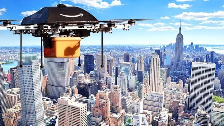 Livraison de colis par drone: le secteur se précise