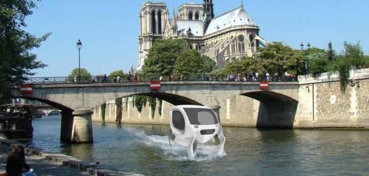 La Mairie de Paris va commander des taxis volants au-dessus de la Seine