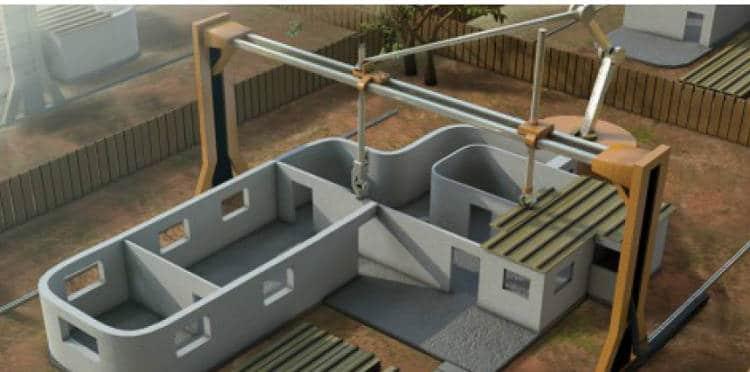 Et si on imprimait nos maisons en 3D ?