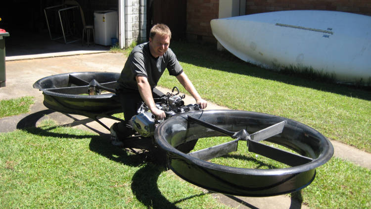 L'hoverBike plus fort que l'hoverBoard