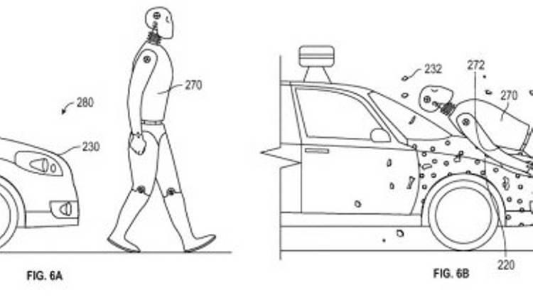 Pour éviter de tuer les piétons, la voiture autonome sera… collante