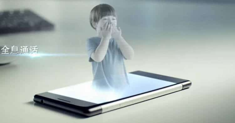Les hologrammes 3D bientôt disponibles dans nos Smartphones!