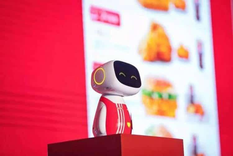 Des robots de service chez KFC: améliorer l'expérience client