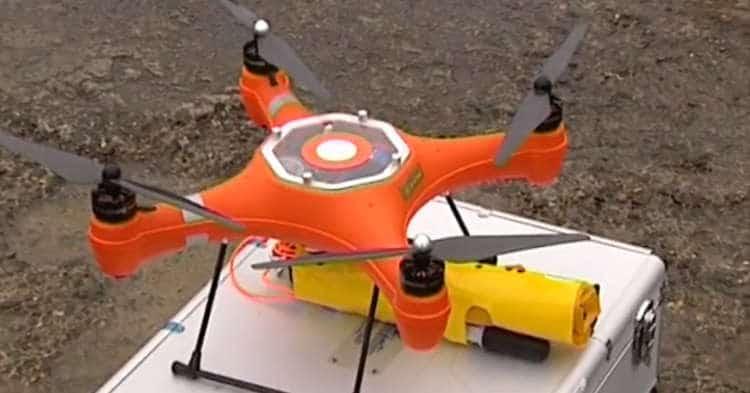 Un drone sauveteur pour assister les maîtres-nageurs français