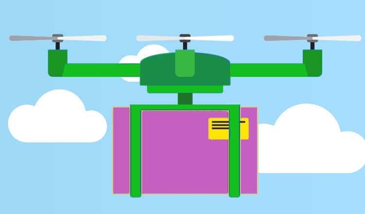 Livraison de colis par drone: C'est Amazon qui va assurer le service postal britannique!