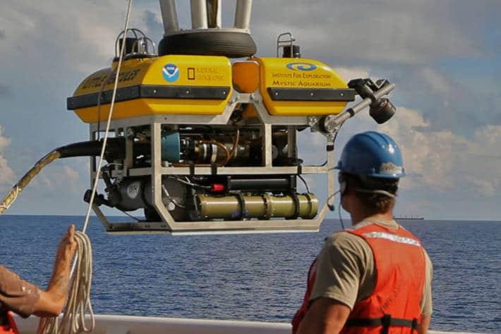 Le robot aventurier Little Hercule pour une pêche durable dans les Iles du Pacifique