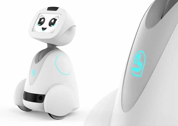 Le robot compagnon Buddy réitère au salon Innorobo 2017 de Paris!