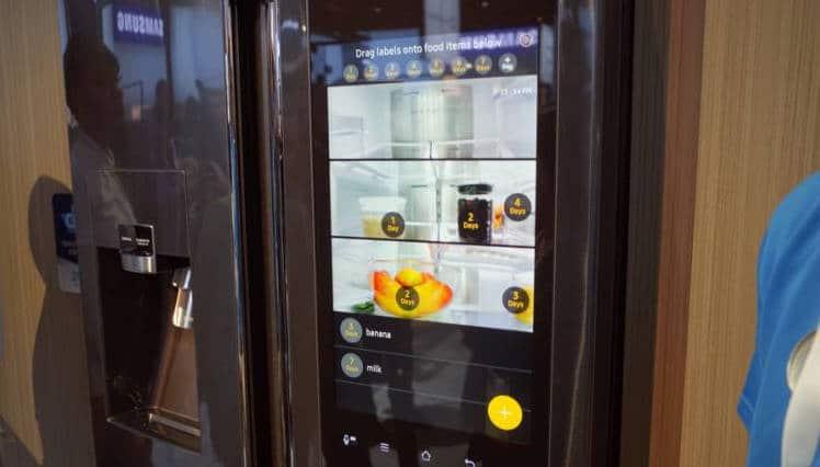 Samsung family hub : le nouveau réfrigérateur connecté
