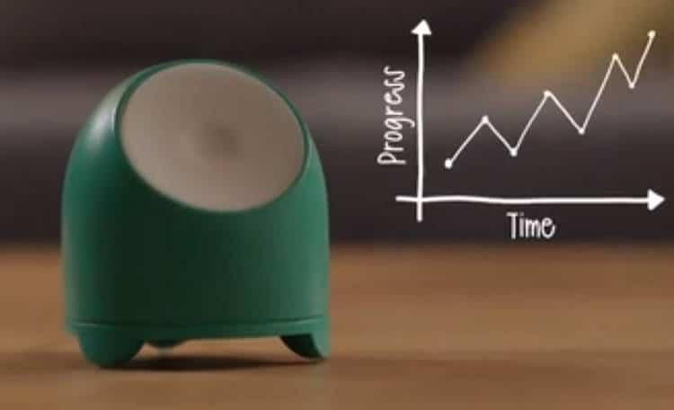 MOTI, l'objet connecté qui fait un suivi d'activité et joue sur les émotions