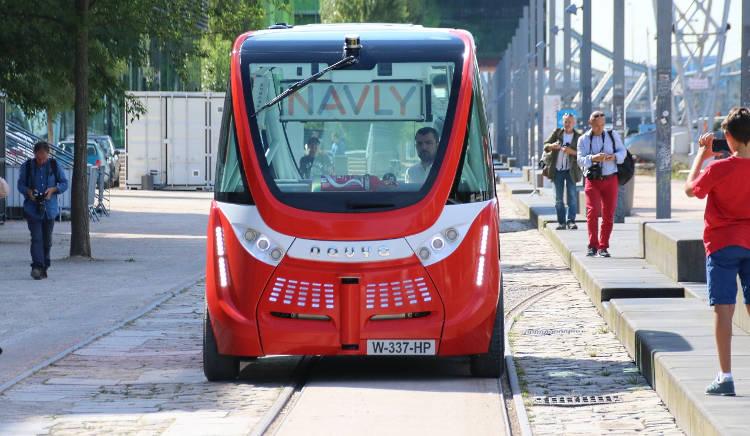 Le premier bus autonome mis en circulation est à Lyon!