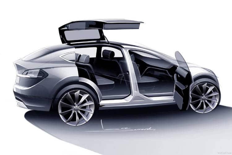 La Tesla Model X enfin en vente en France (et elle déménage!)