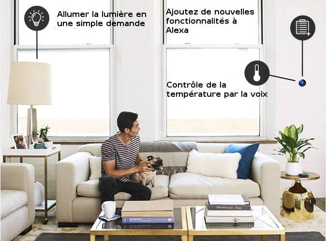 Maison du futur:Amazon sort Echo Dot, une nouvelle version de son assistant virtuel de maison