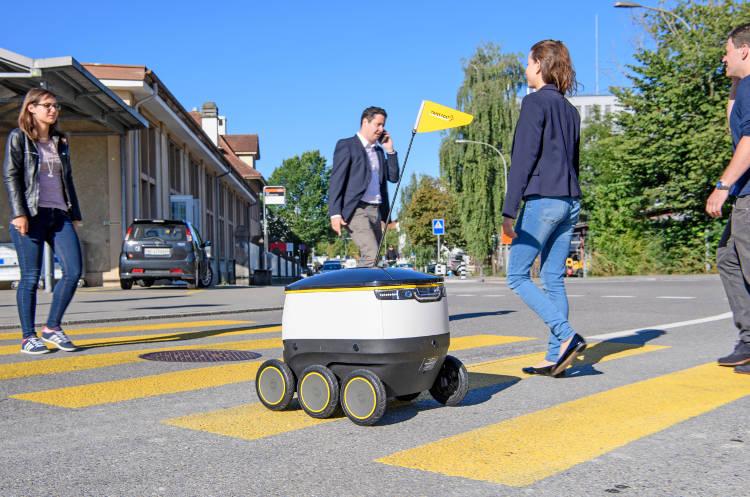 En suisse, des robots facteurs sonnent à votre porte, le personnel de la Poste s'inquiète