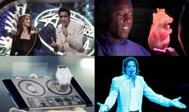 Opération du cœur, selfies, magasins… Quelles applications à venir pour l'hologramme?
