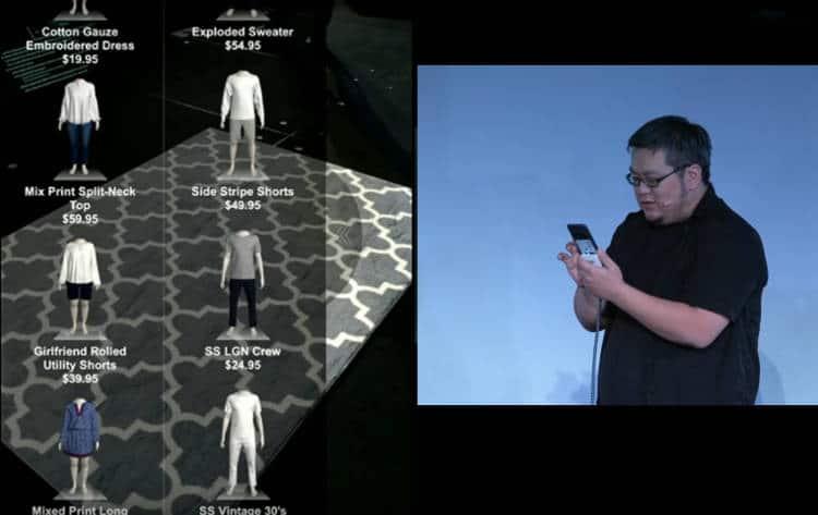 Google et Gap vous proposent une expérience de shopping en réalité augmentée