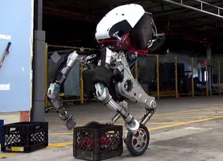 Handle, le nouveau robot-chien qui saute (effrayant!) de Boston Dynamics