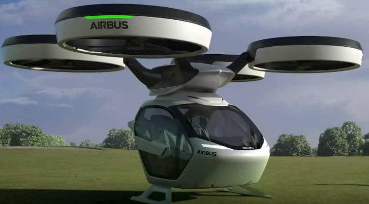 Uber, Airbus, Sea Bubble … Les projets de voitures volantes se précisent!